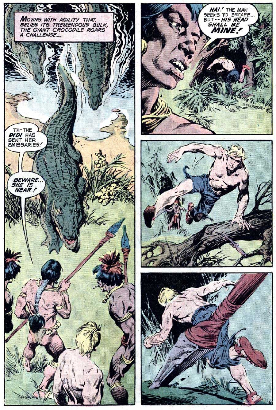 Rima the Jungle Girl v1 #4 dc bronze age comic book page art by Nestor Redondo