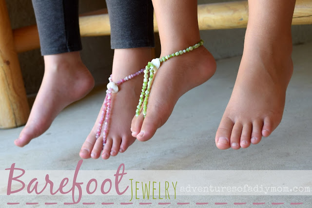 Barefoot Jewelry Tutorial