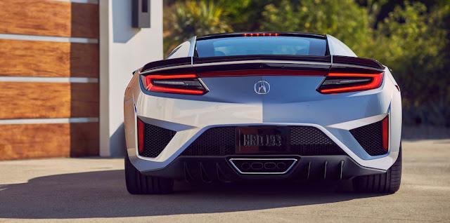 NSX マイナーモデルチェンジ  2019年モデル