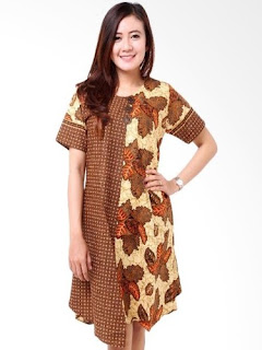 Dress Batik Keris Terbaru