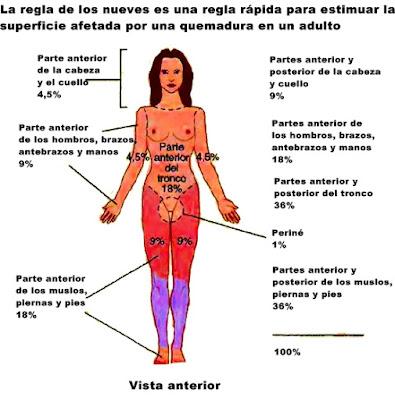 Quemaduras factores de riesgo problemas piel