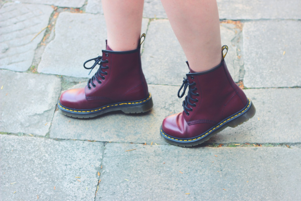 Dr. Martens Boots 1460 Classic Cherry Red