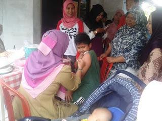 Imunisasi DPT Massal Sukaragam Bekasi