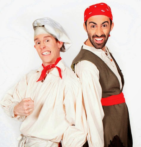 Cook and Libe from Swashbuckle will be at the Geronimo Festival