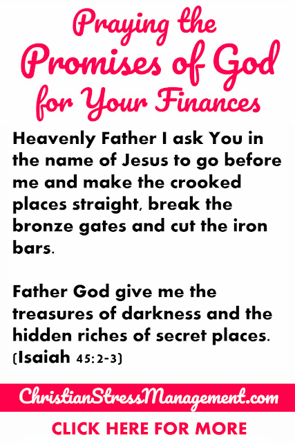 Praying the Promises of God for Your Finances