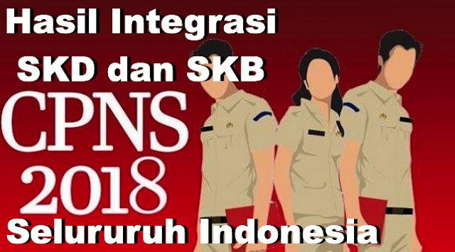 Hasil Integrasi SKD dan SKB CPNS 2018/2019_ www.soalbaru.xyz