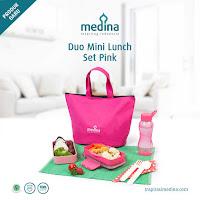 Dusdusan Duo Mini Lunch Set Pink ANDHIMIND