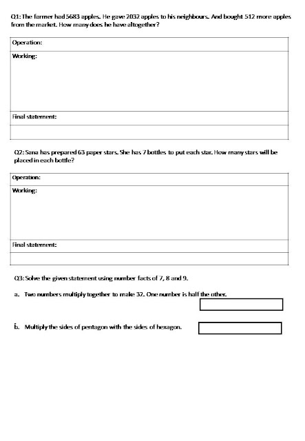 the city school  worksheets