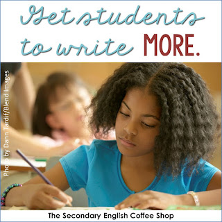 Informal writing is a fantastic way to get students to write more, and it helps build endurance and excitement for the written word. Here are some ideas and a freebie to get you started. (Blog post by Nouvelle ELA at the Secondary English Coffee Shop)