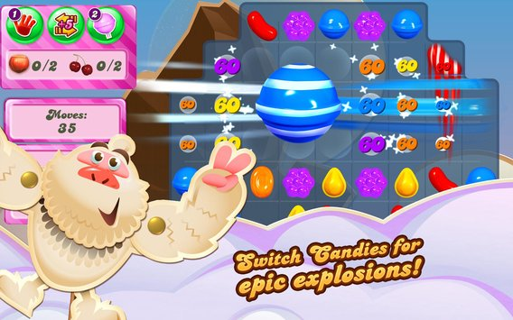 Candy Crush Saga Apk for android Unlimited Coins