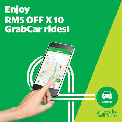 Grab Promo Code Discount GrabCar Rides