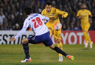 Nacional de Uruguay y Boca Juniors igualan
