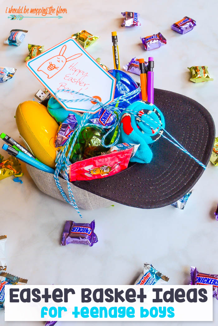 I should be mopping the floor easter basket ideas for teen boys easter basket for boys negle Image collections