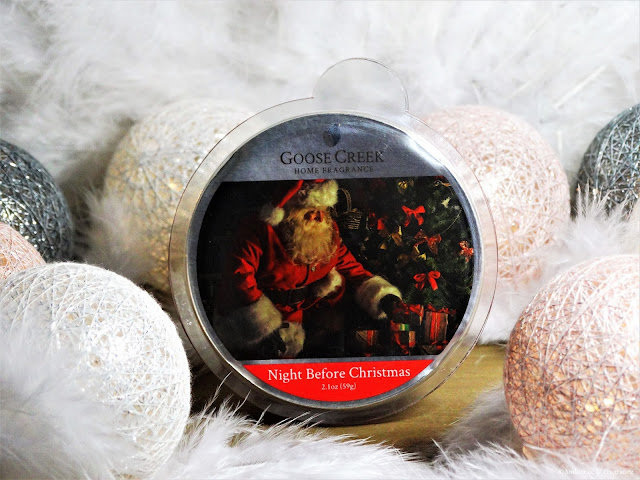 Avis Night before Christmas de Goose Creek, blog bougie, candle blog, blog parfum