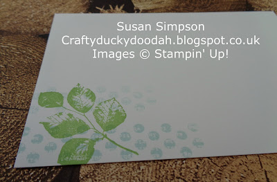 Stampin' Up! UK Independent Demonstrator Susan Simpson, Craftyduckydoodah!, Kinda Eclectic, June Coffee & Card Project, Supplies available 24/7 from my online store,