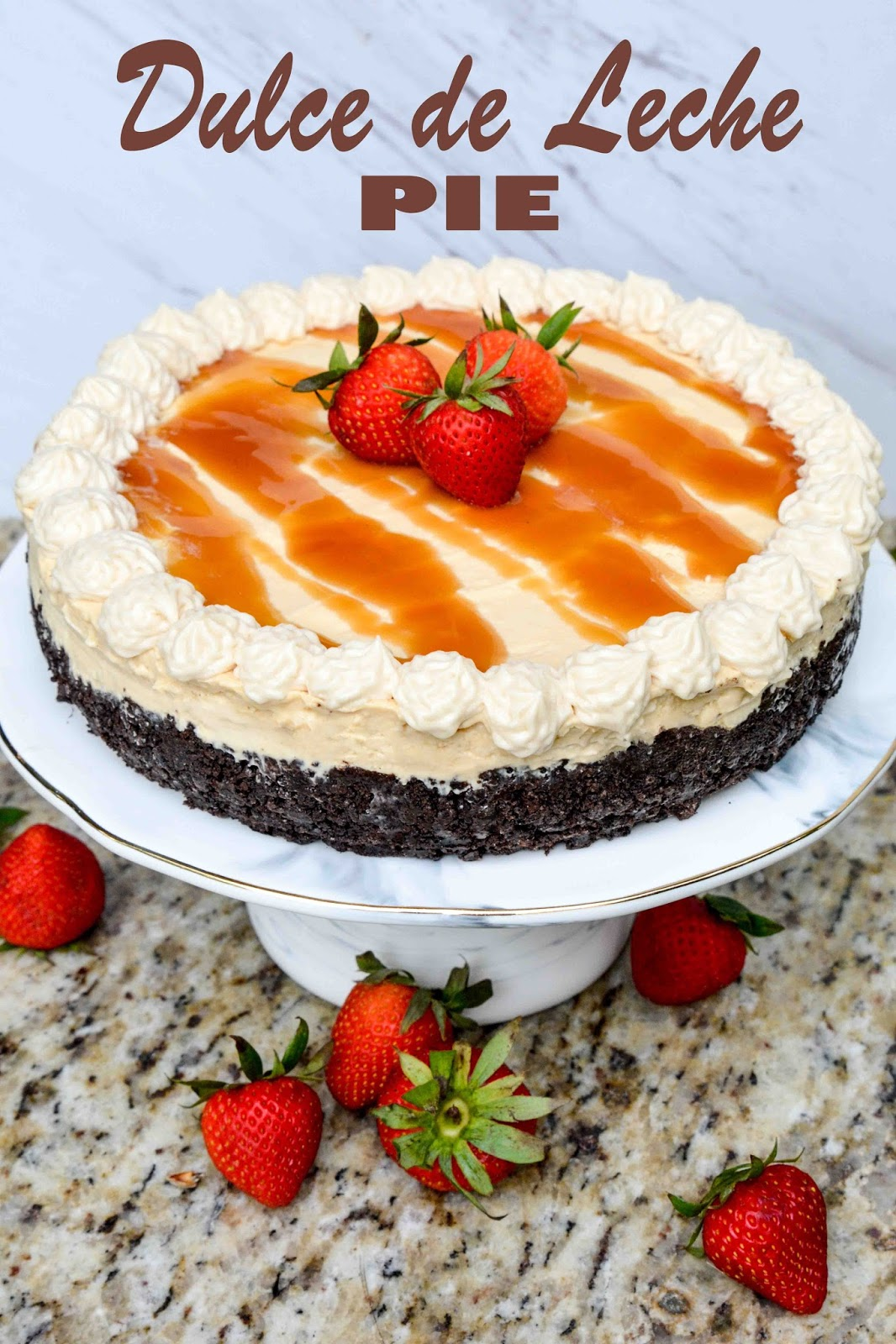 No Bake Dulce de Leche Pie