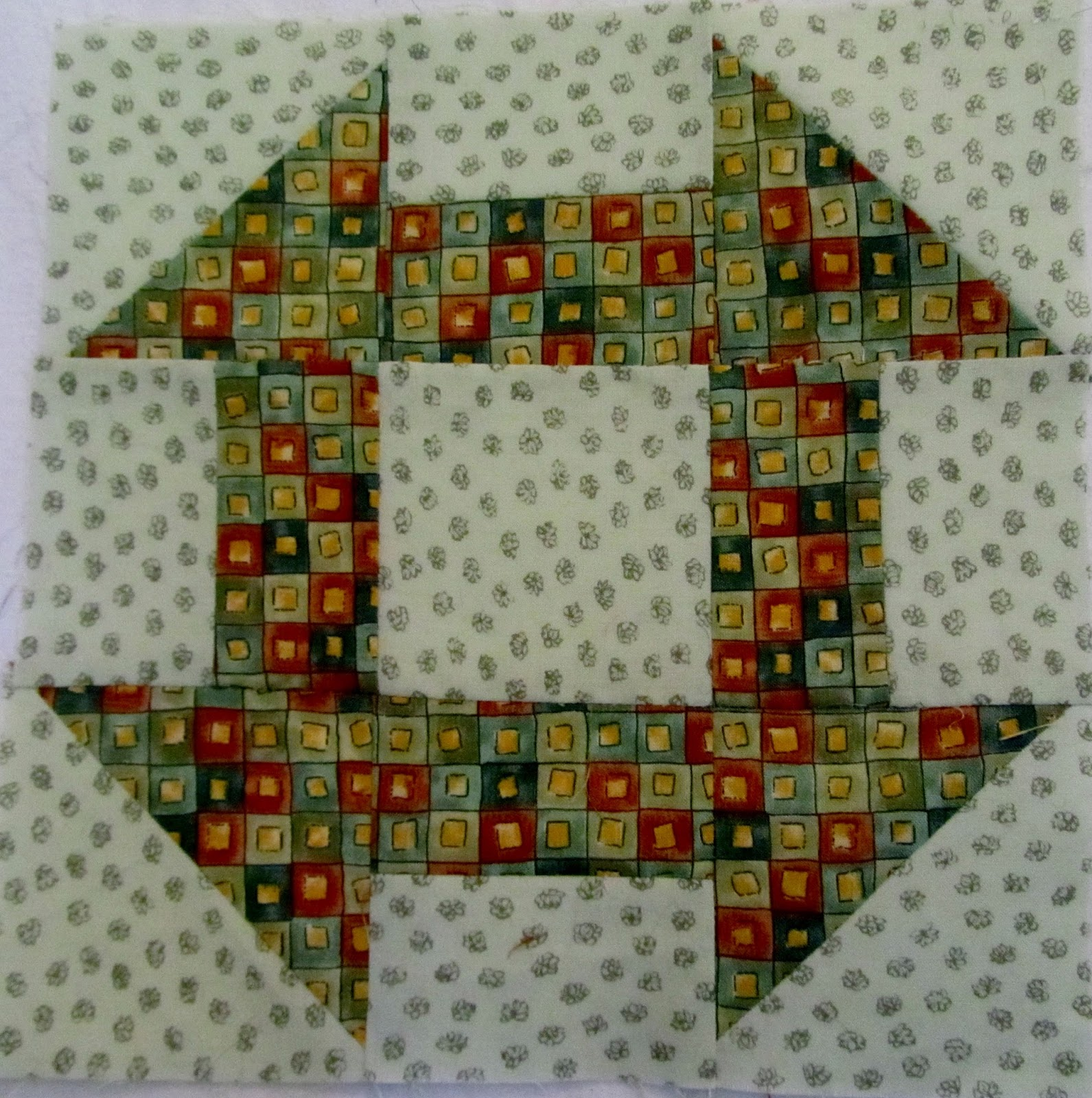 STITCH AND SOW- the handwork of home and garden: Rainbow Scrap ...