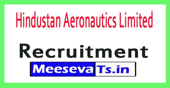 Hindustan Aeronautics Limited HAL Recruitment