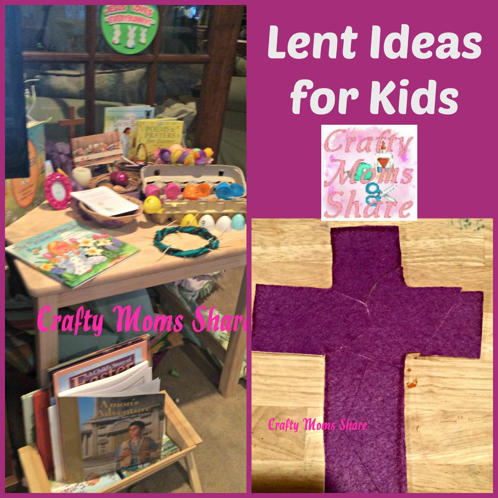 Crafty Moms Share Lent Ideas For Kids