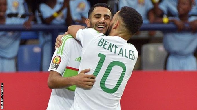 Afcon 2017: Mahrez scores twice to rescue Algeria