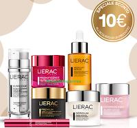 Logo Sconto immediato di 10€ sull'acquisto dei prodotti Lierac