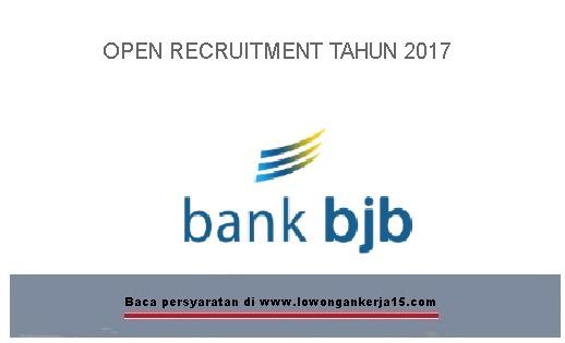 Lowongan Kerja TBank BJB tahun 2017