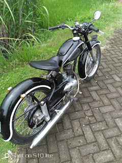 Jual Motor antik Dkw 125 1955