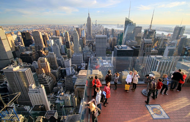 Top of The Rock em Nova York