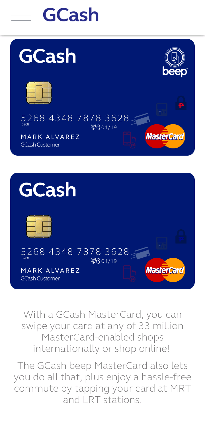 Get Gcash Mastercard Online | Applycard co