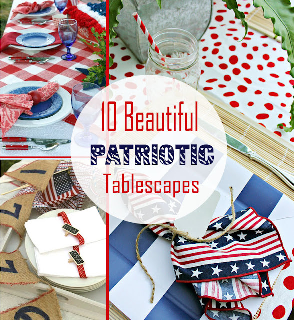 patriotic tablescapes ideas