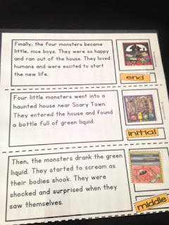 https://www.teacherspayteachers.com/Product/Story-Sequence-Cut-and-Paste-Halloween-FREEBIE-2-Little-Stories-1474399