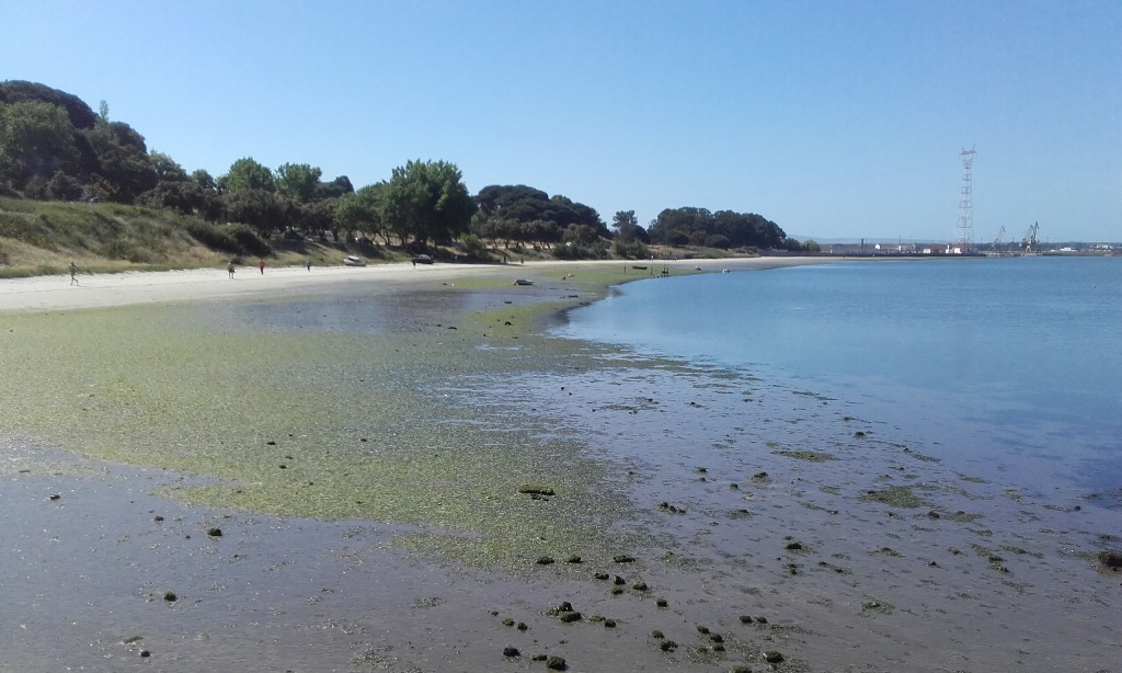 lodo na Agua da Praia