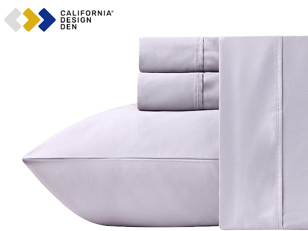 FLASH GIVEAWAY: Dads Rest Easy with California Design Den {Win A Luxury Sheet Set}