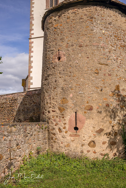 Cimetière fortifié d'Hartmannswiller — Tour de flanquement (angle sud-ouest)