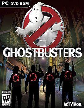 غلاف لعبة مطاردة الأشباح Ghostbusters