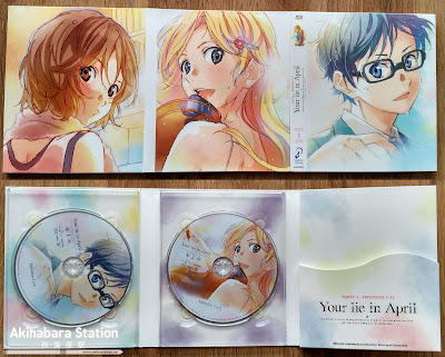 """Your Lie in April vol.1"" Ed. Blu-Ray Coleccionista"