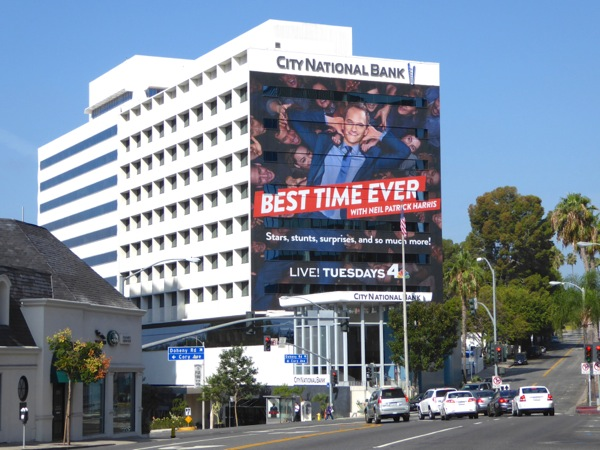 Giant Best Time Ever season 1 billboard