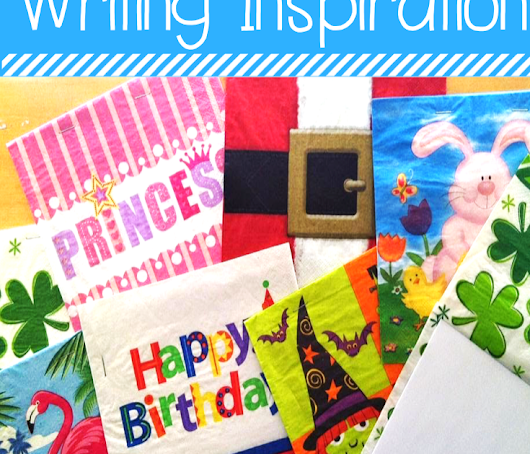 Writing Inspiration with Napkin Books