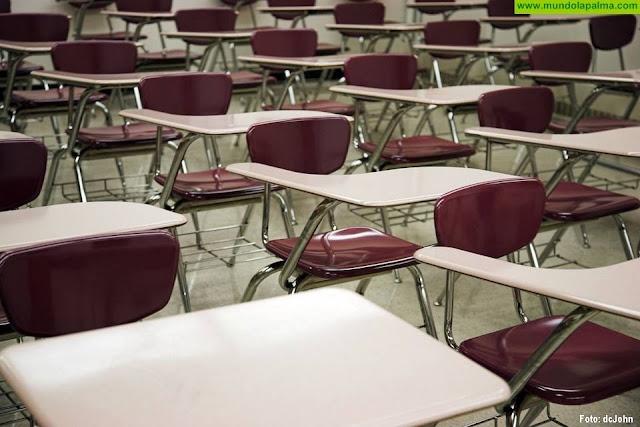 El Gobierno de Canarias suspende las clases a partir de mañana en todos niveles educativos