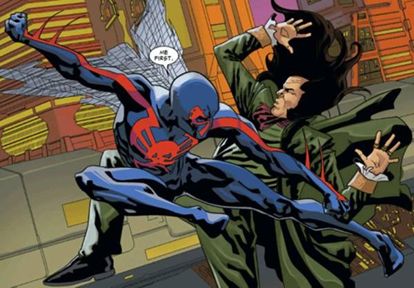 Daftar Kekuatan Spider-Man 2099