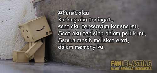 Blog Berita Terkini Remaja Indonesia Puisi Galau Cinta