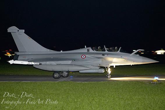 vor einem Nachtflug anlässlich der Evaluation TTE in Emmen am 21. Oktober 2008