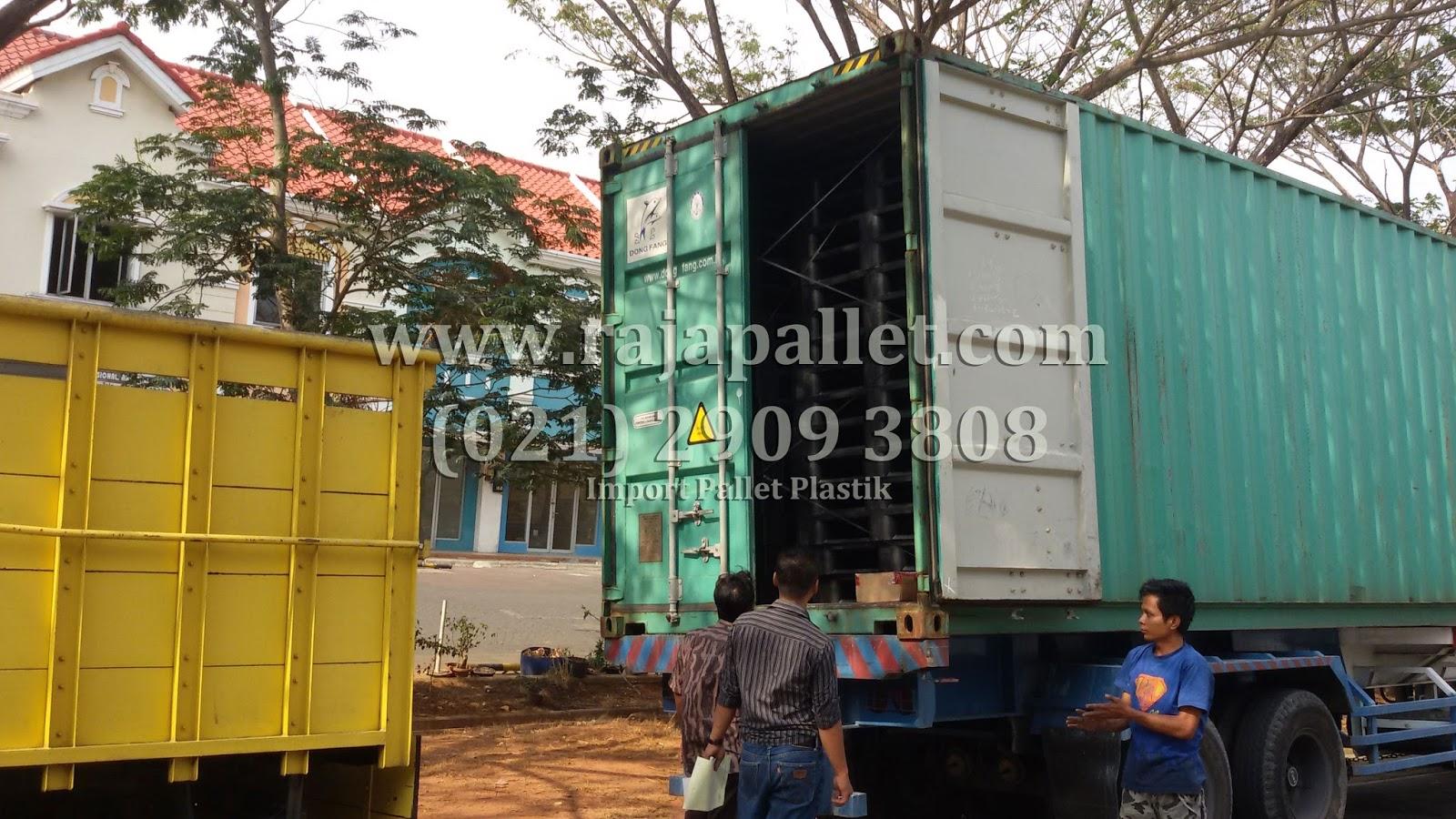 pallet plastik kualitas import