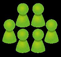 グループのイラスト(緑)