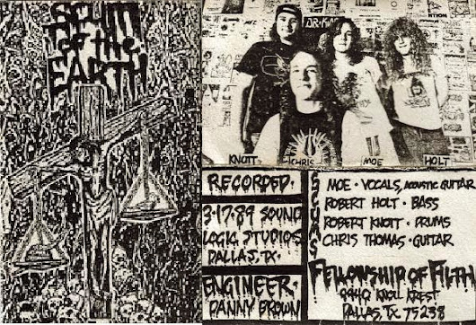 "Scum Of The Earth - ""Introduction To Filth"" demo"