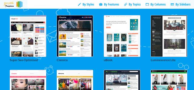 5 Situs Penyedia Template Blogger Keren dan Gratis