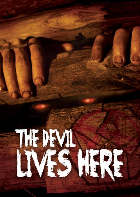 the devil lives here poster
