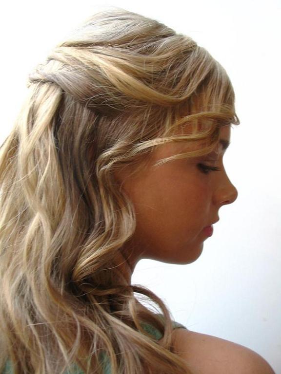 Tipos Peinados Sencillos Para Mujeres Peinados Cortes De