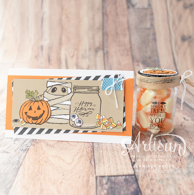 Jar of Haunts, Halloween, Artisan Design Team, Stampin' Up!, Papercraft by Jennifer Frost