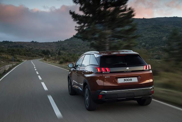 Peugeot 3008 2018 Griffe